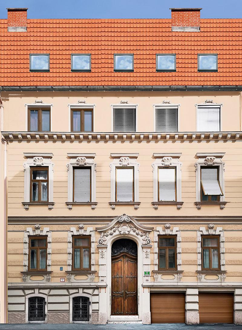 Front, Kastellfeldgasse 9, Graz