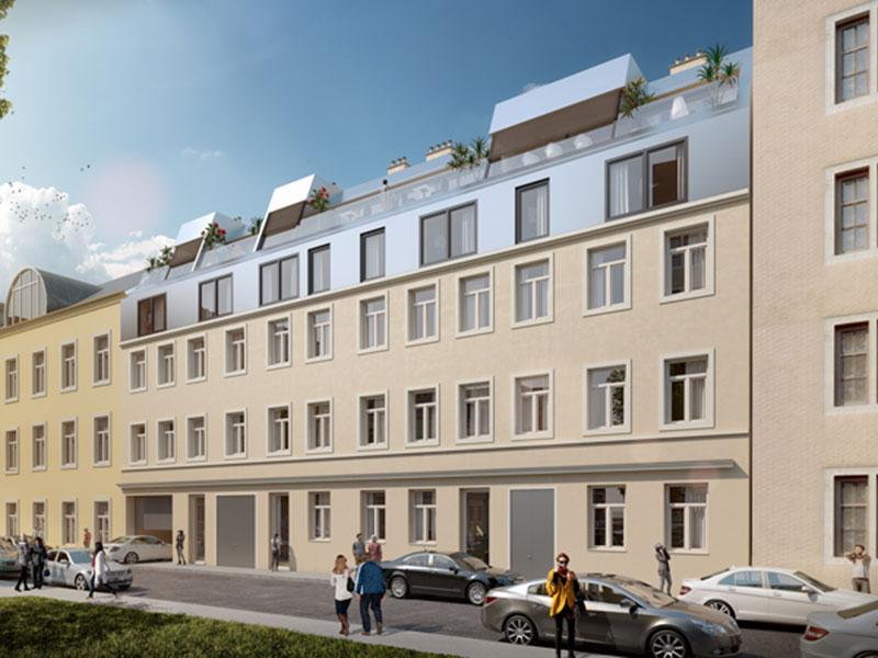 1160 Wien, Grundsteing . 60 & 62